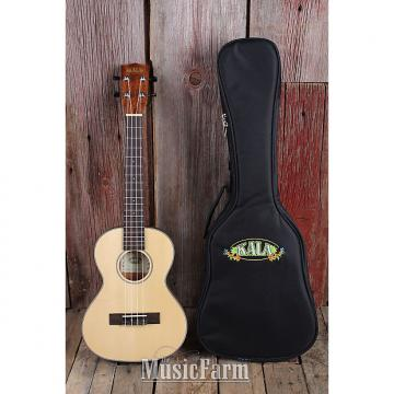 Custom Kala KA SSTU T Thinline Travel Tenor Ukulele Solid Spruce Top Mah Body w Gig Bag