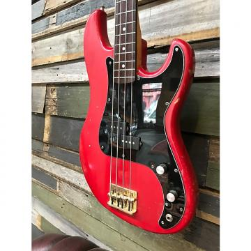 Custom Cimar by Ibanez  P Bass Style 80's Vintage Red