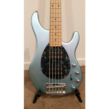 Custom Ernie Ball Music Man Sterling 5 HH 2014 Ice Blue Metallic
