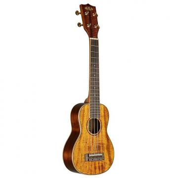 Custom Kala KA-SLNG Hawaiian Koa Long Neck Soprano Ukulele