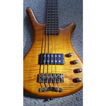 Custom PRICE CUT 1999 Warwick FNA 5-String Bass Ash Body with Wenge Neck - Original Owner! 1999 Amber