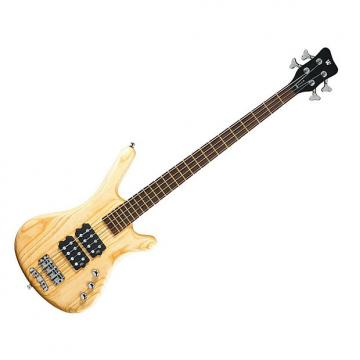 Custom Warwick RockBass Corvette $$ 4-string Passive Bass - Natural Satin Ash - B-Stock