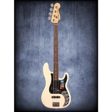 Custom Fender American Elite P Bass RW Olympic White W/C