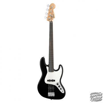 Custom Fender Standard Jazz Bass Fretless Black