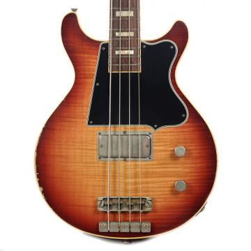 Custom Rock N Roll Relics Thunders Bass AAA Flame Maple Top Sunburst