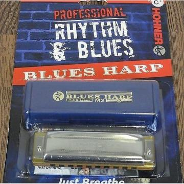 Custom Hohner Rhythm & Blues C# Harmonica, In Package, FREE SHIPPING
