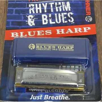 Custom Hohner Rhythm & Blues Eb Harmonica, In Package, FREE SHIPPING
