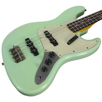 Custom Nash JB-63 Bass Guitar, Surf Green