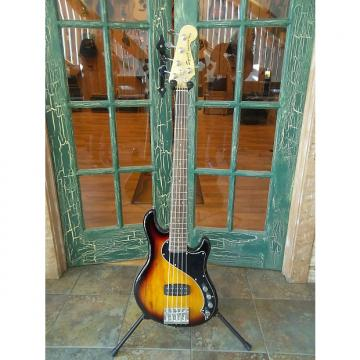 Custom Squier Deluxe Dimension Bass 3 Tone Sunburst