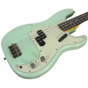 Custom Nash PB-63 Bass Guitar, Surf Green
