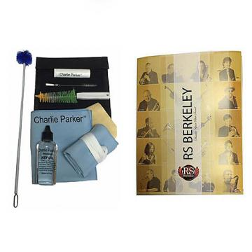 Custom Charlie Parker Paramount Series Alto Saxophone Care & Cleaning Kit w/RS Berkeley Band Folder