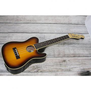 Custom Fender Ukulele '52 Acoustic Electric - 3 Tone Sunburst