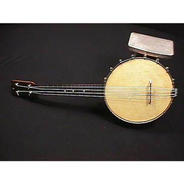 Custom Vintage  Banjo - Ukulele in Great Ready to Play Condition with lots of New items on it & a Real Skin
