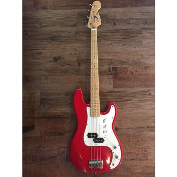 Custom Squier Precision Bass 4 String (Korean) Red