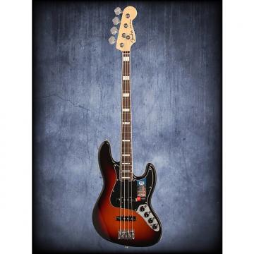 Custom Fender American Elite Jazz Bass 3 Color SB W/C