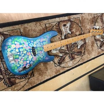 Custom Fender 54' Reissue Precision Bass Blue Flower