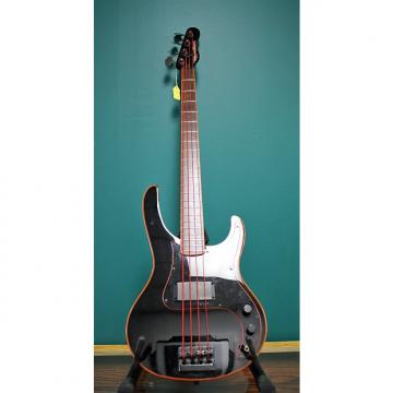Custom 1984 Washburn Force 8 Black with Red Binding