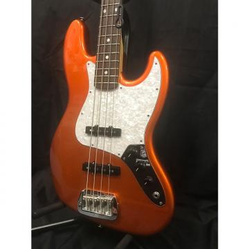 Custom G&L JB 4 String Bass Made in USA 2017 Tangerine Metallic Empress Wood 8.2lbs