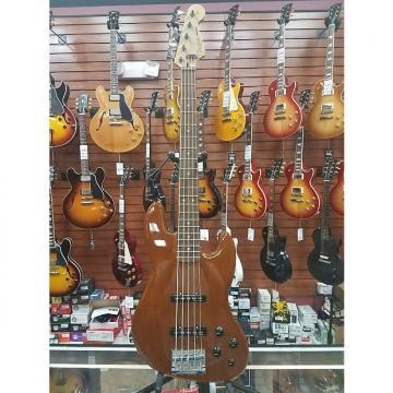 Custom Fender Deluxe Active Jazz Bass V  Okoume