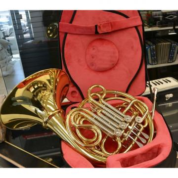 Custom Schiller Elite French Horn Gold