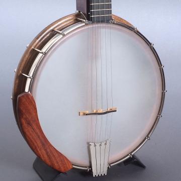 """Custom Nechville Atlas Openback Banjo & Gigbag, 11"""" Rim, Short Scale"""