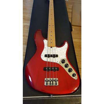 Custom Fender Jazz Deluxe 1998 Candy Apple Red Burst