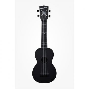 Custom Kala-Waterman Ukulele (KA-SWB-BK) Black, Matte