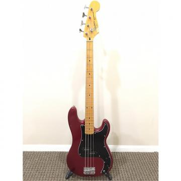 Custom Fender Squier II Precision Bass 1988-1996 Apple Red