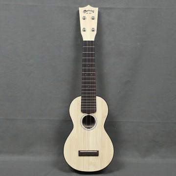 Custom NEW Martin 0X Uke Bamboo Natural Soprano Ukulele - FREE SHIP