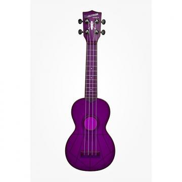 Custom Kala-Waterman Ukulele (KA-SWF-PL), Fluorescent Purple Grape