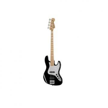 Custom Fender American Geddy Lee Jazz Bass Guitar Black Ex Display Black