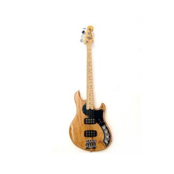 Custom Fender American Deluxe IV Dimension HH Bass Natural EX-DISPLAY Natural