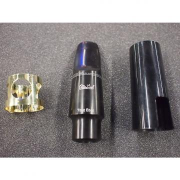 Custom Otto Link Rubber Alto Saxophone Mouthpiece 7 with liguature and cap