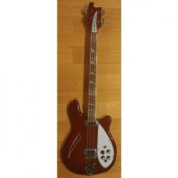 Custom Rickenbacker 4005 1974 Electric Bass  Burgandy -Glo Finish