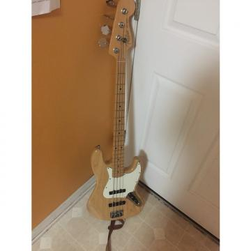 Custom Fender Jazz Bass 2001 USA  Natural With White Pickguard