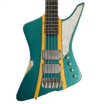 Custom Sandberg Forty Eight Bass 3 Tone Sunburst Finish Hardcore Reserve Aged (Serial #27556)