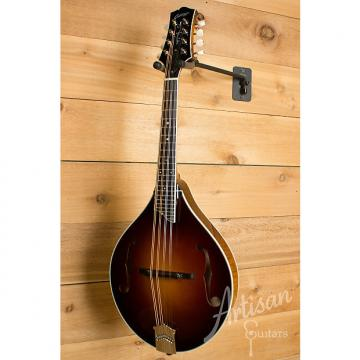 Custom Collings MT2 Mandolin Adirondack and Figured Maple with Sunburst Finish and Ivoroid Binding