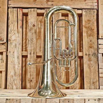 Custom Yamaha YEP-201 Standard Euphonium *Rental Inventory Closeout* 2010's Brass Lacquer
