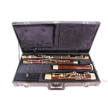 Custom Heinrich Salzer Professional Wood Bassoon EXCELLENT