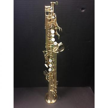 Custom Selmer-Paris Series III 53J Soprano Saxophone Honey Gold Lacquer