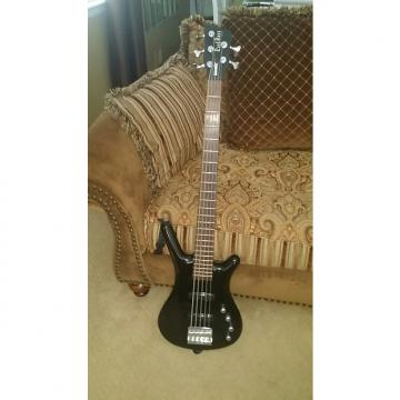 Custom Warwick (Rock Bass) Corvette 2004 Black (Gloss)