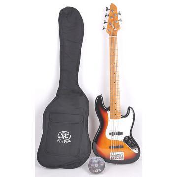 Custom SX Ursa 2 MN 6 3TS 6 String Bass Guitar Suburst