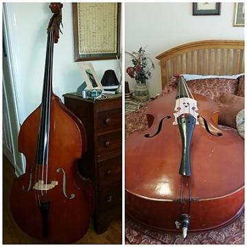 Custom Cremona Full size upright bass 1987 Aged Cherry
