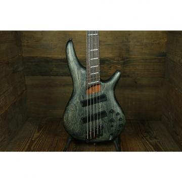 Custom Ibanez SRFF805 5-string Fanned Fret  Satin Black