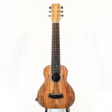 Custom Islander GL6-MAG-EQ Spalted Maple 6-String Ukulele
