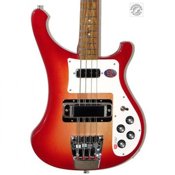 Custom Brand New 2017 Model Rickenbacker 4003S in Fireglo, Beautiful, and Free Shipping!