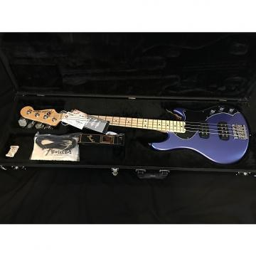 Custom Fender American Standard Dimension Bass IV HH 2016 Ocean Blue Metallic