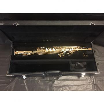 Custom Jupiter JPS-547 Soprano Saxophone C. 2000 Honey Gold