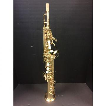 Custom Jupiter JPS-547 Soprano Saxophone C. 2000 Gold Brass