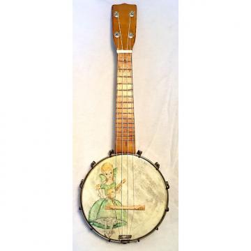 """Custom Vintage Stella Style Banjo Ukulele Banjolele 1930s """"the Singer"""""""